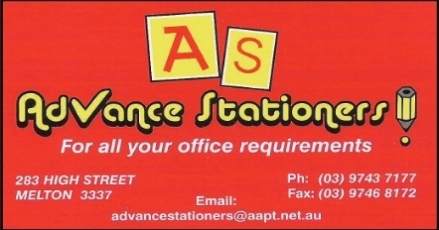 Sponsor Advance stationers